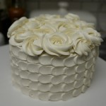Custom Item: Vanilla Mini Cake with Vanilla Swiss Meringue Buttercream
