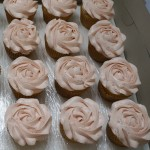 Vanilla with Strawberry Swiss Meringue Buttercream