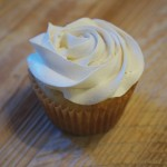 Vanilla with a Vanilla Swiss Meringue Buttercream Rose