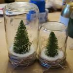 Adrienne's Mason Jar Snow Globes